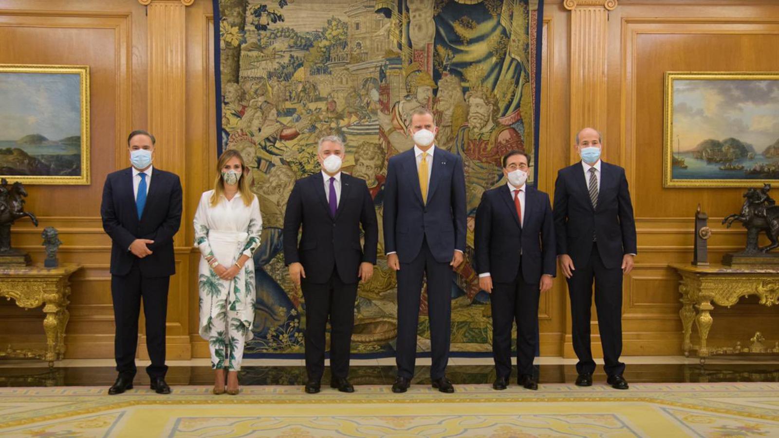 Colombia fue reconocida en España por su labor al acoger migrantes venezolanos