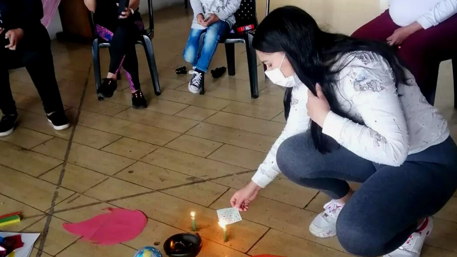 Venezolanas crean espacios de apoyo psicosocial para mujeres desplazadas
