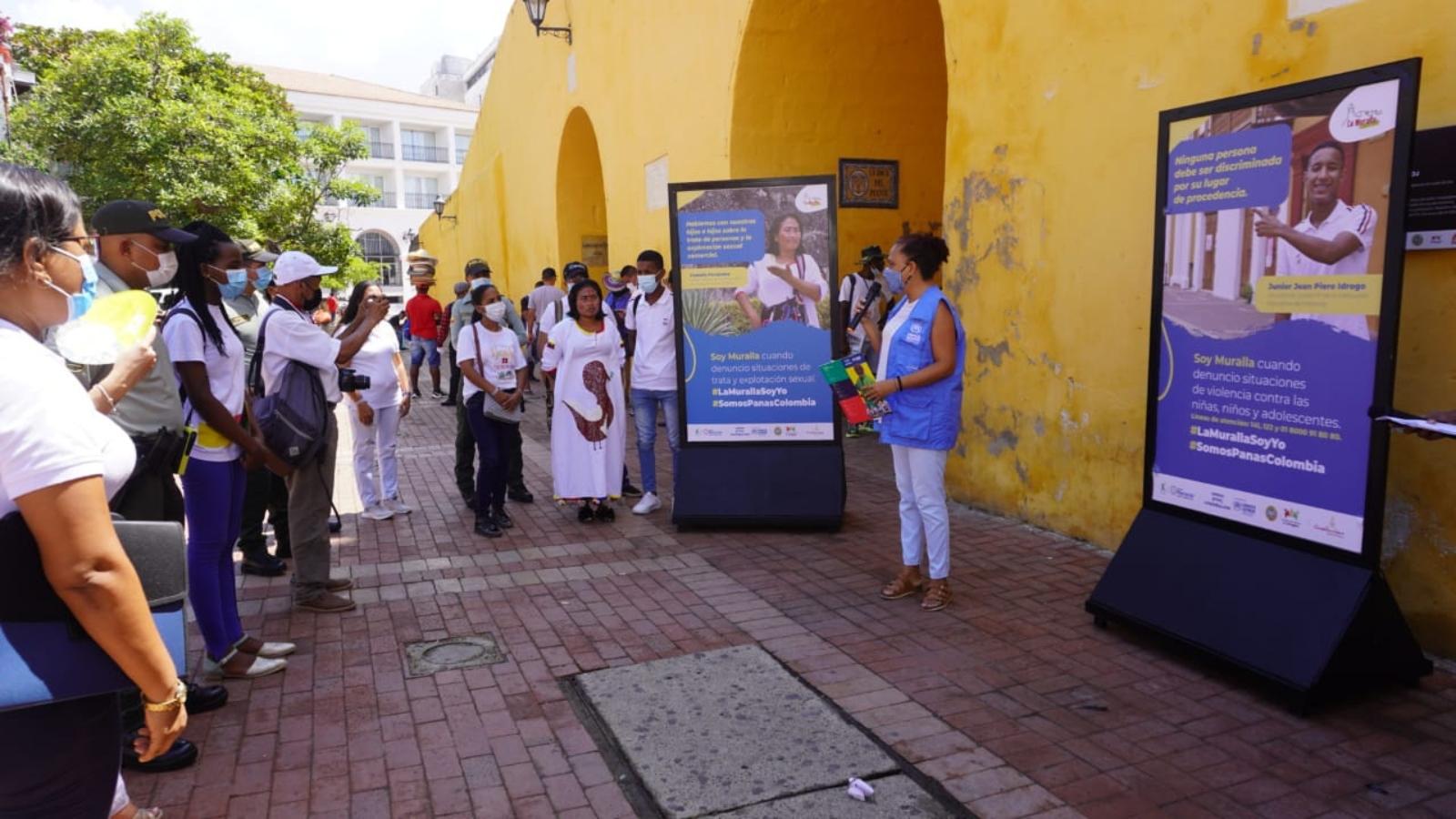 Lanzaron iniciativa contra la xenofobia y los delitos sexuales en Cartagena