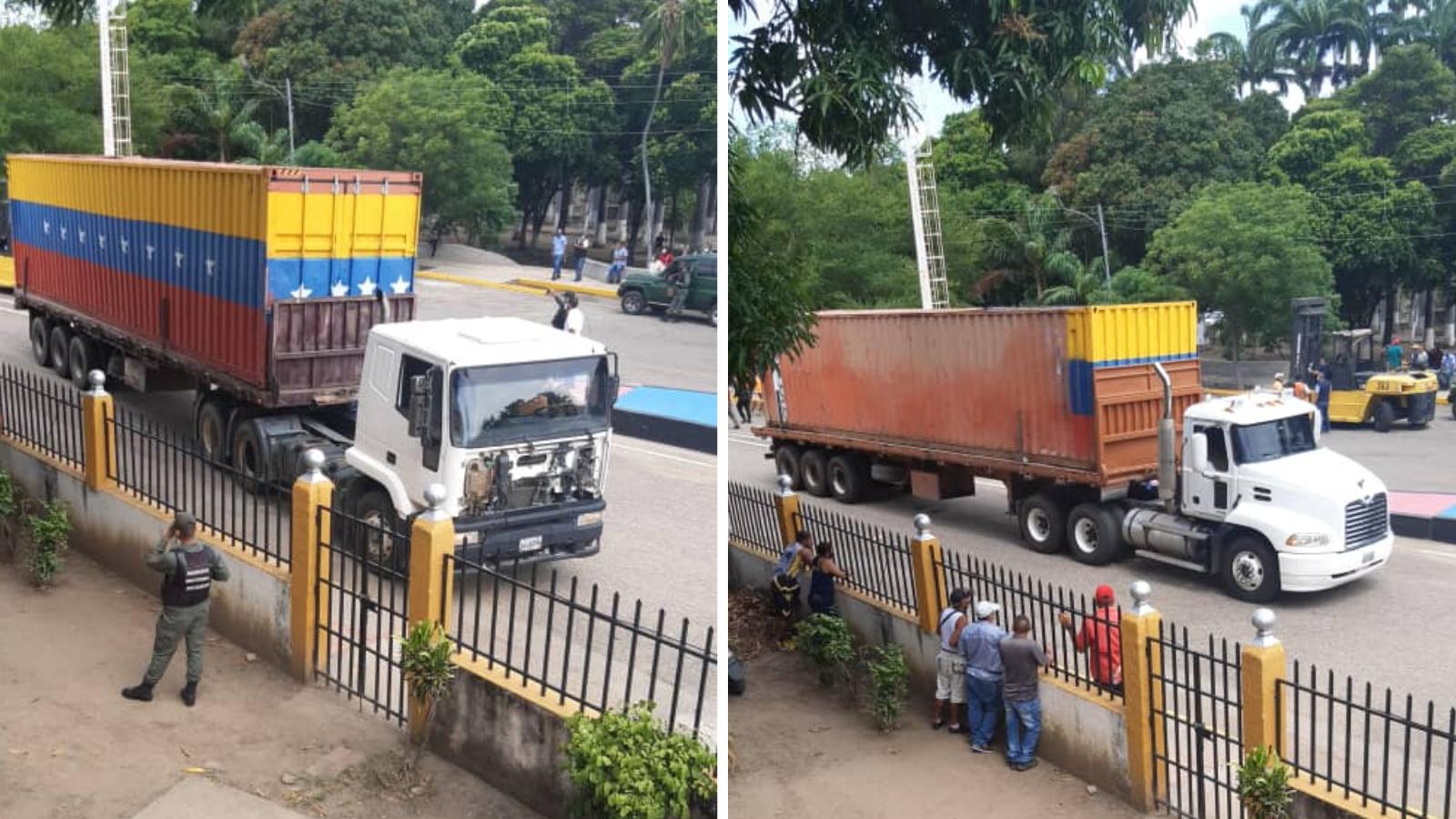 Retiraron los contenedores que bloqueaban el paso en la frontera con Venezuela