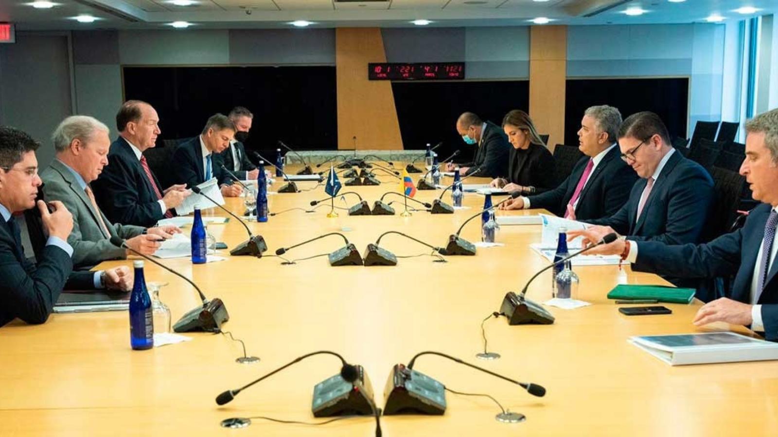Duque pidió apoyo financiero al Banco Mundial para atender migración venezolana