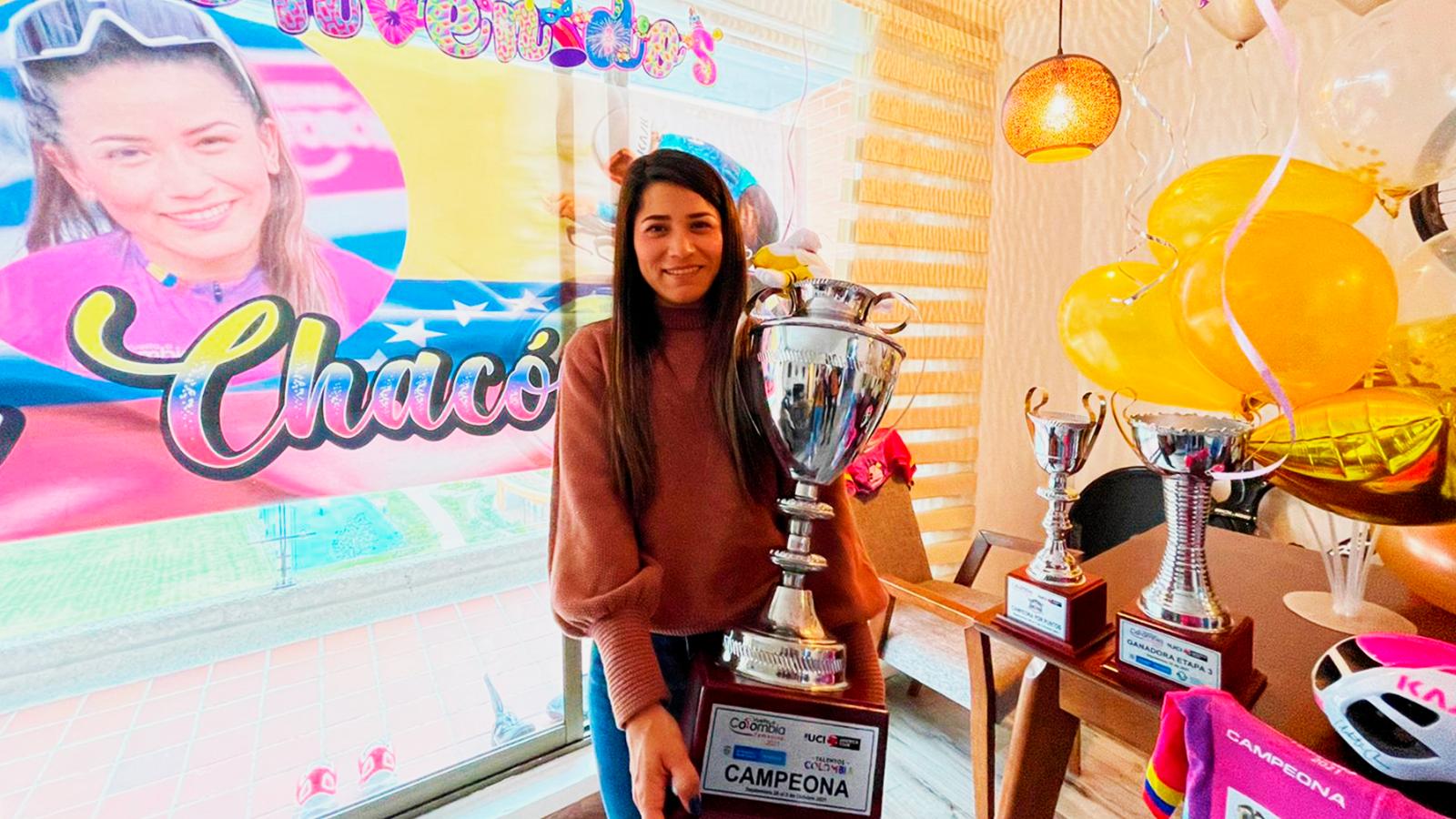 El recorrido de Lilibeth Chacón para triunfar en la Vuelta a Colombia 2021