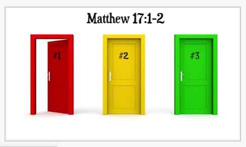 Matthew 17 PowerPoint