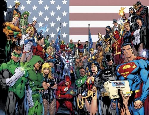 Ed Benes - Liga da Justiça da América