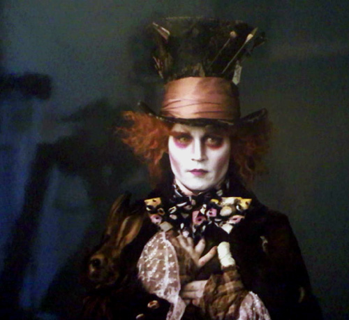 Depp em Alice in Wonderland