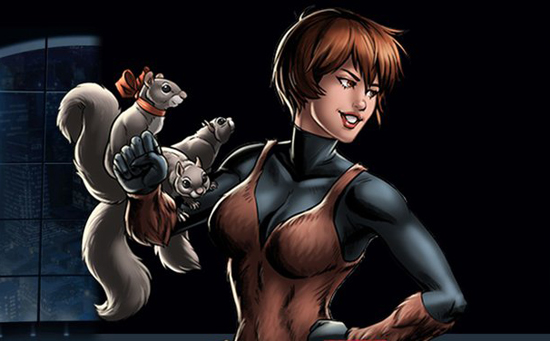 Resultado de imagem para Garota esquilo