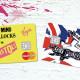 Sex Pistols Ilustra Cartões de Crédito