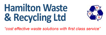 Skip hire from Hamilton Waste & Recycling Ltd