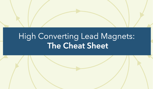 SendGrowth's High Converting Lead Magnets: The Cheat Sheet