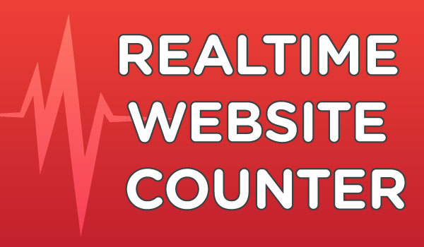 Realtime Website Counter