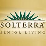 Logo for Solterra Senior living