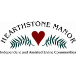 Logo for Hearthstone Manor Retirement Communities