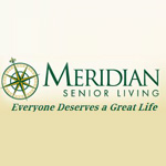 Logo for Meridian Senior Living