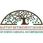 Logo for Baptist Retirement Homes of North Carolina