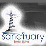 Logo for Sanctuary Senior Living.