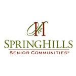 Logo for Spring Hills Senior Communities
