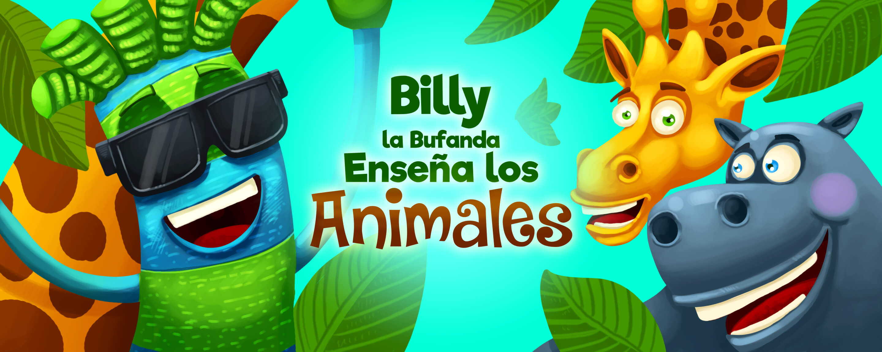 Billy la Bufanda Enseña Los Animales