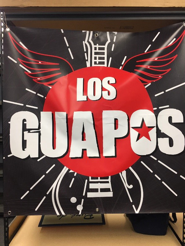 Win the Los Guapos poster from Feo
