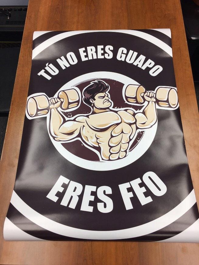 Tú No Eres Guapo Poster