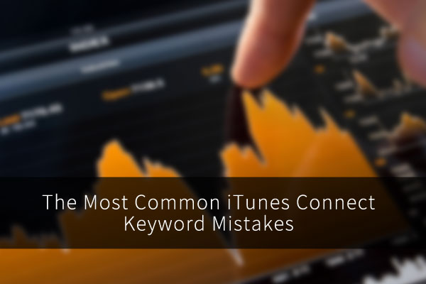 Mistakes made with iTunes keywords