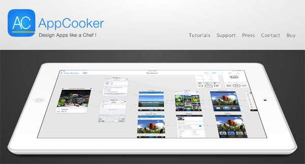 Prototype your next ios app idea quickly with these simple tools appcooker malvernweather Images