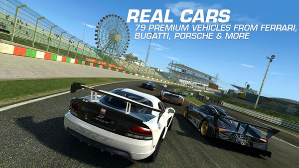 Screenshot Strategy Analysis Of The Top 5 Grossing Racing Games