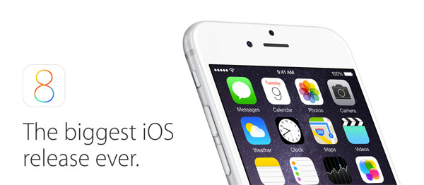 iOS 8 subcategories are here