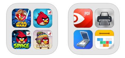 Examples of app bundles