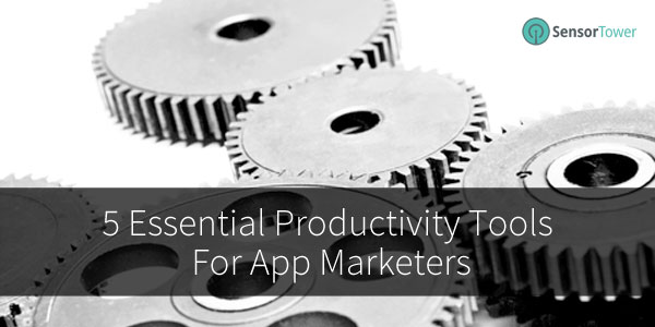 Productivity tips for app developers