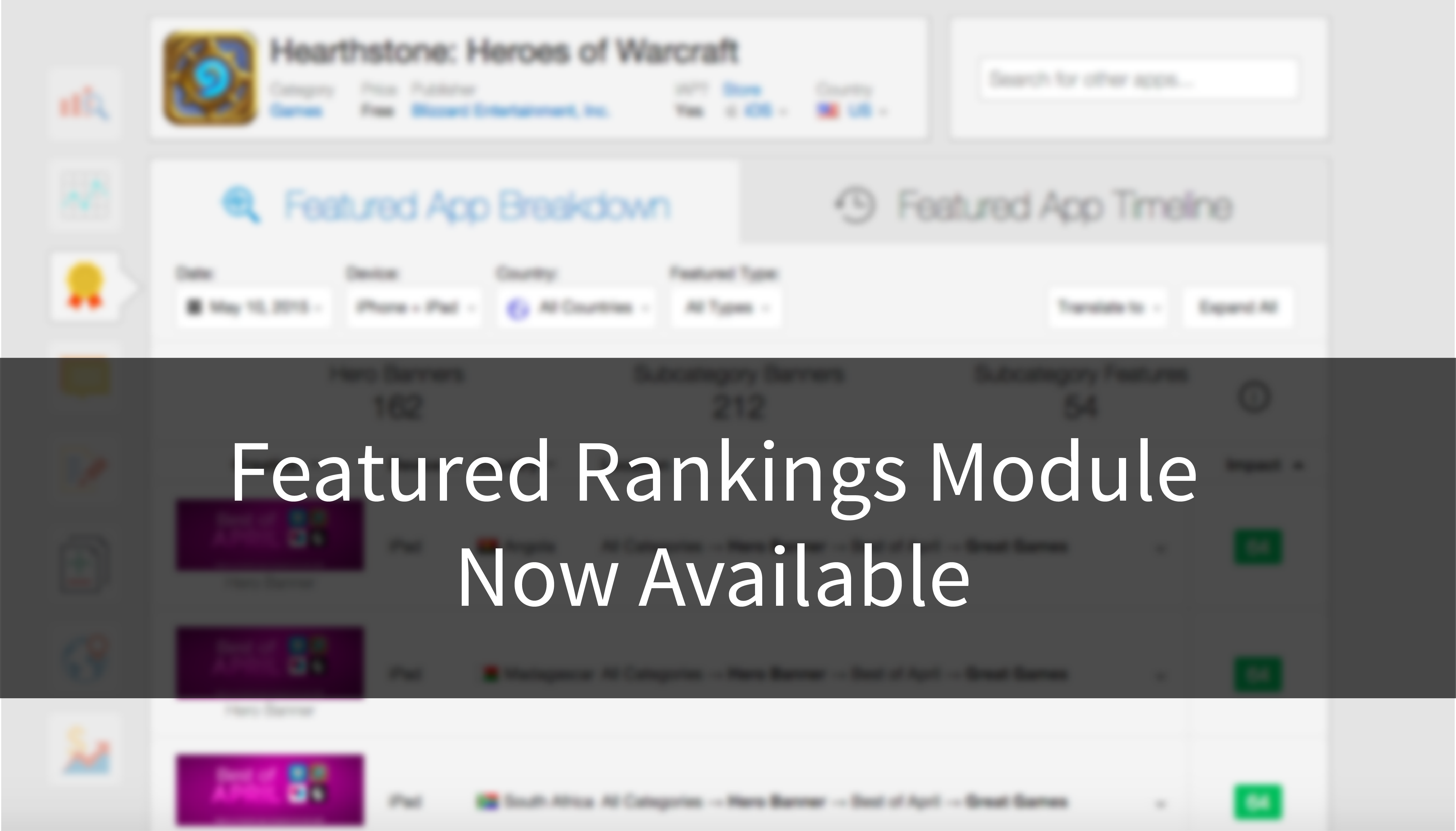 Featured Rankings Module Now Available