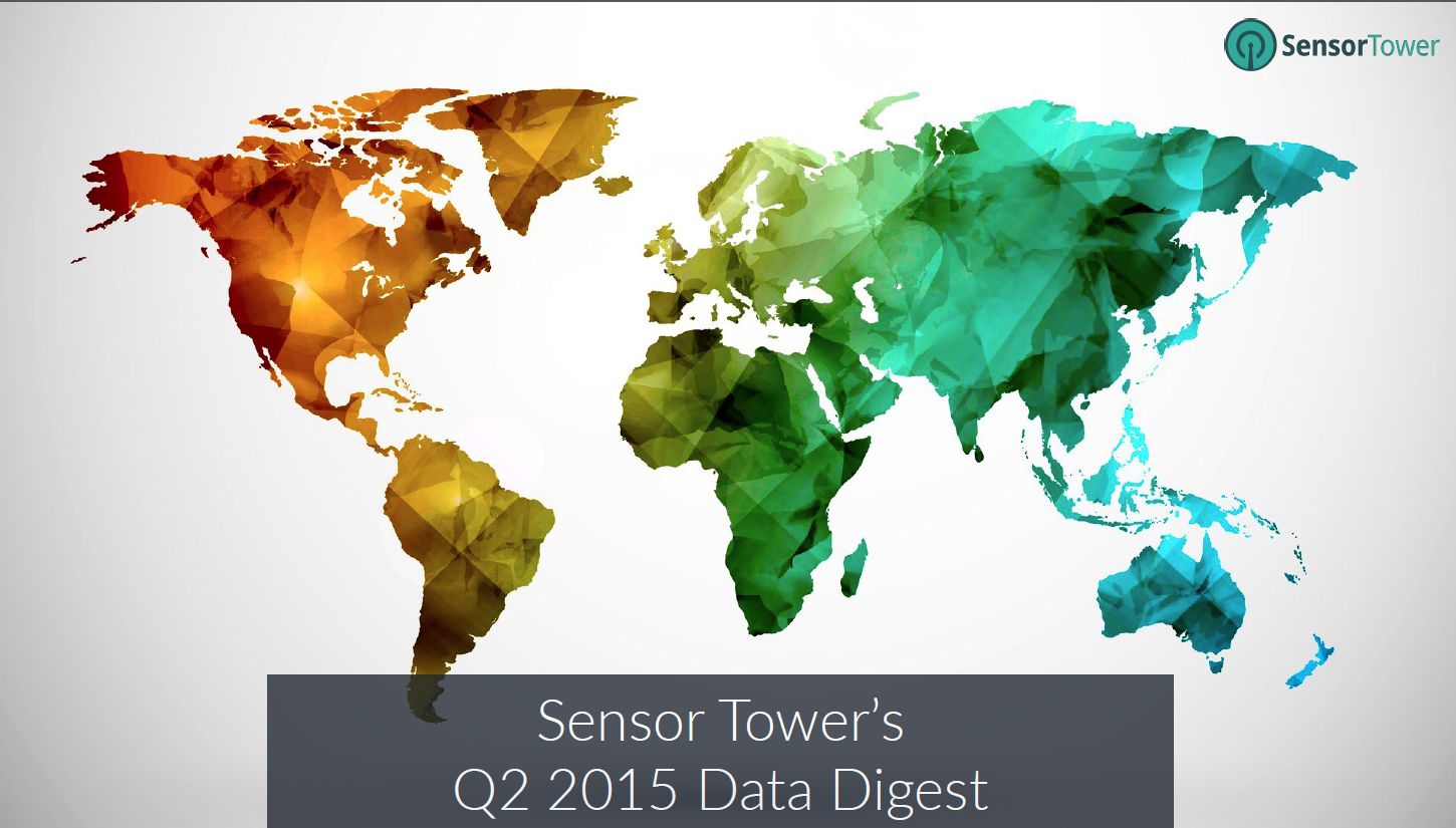 Cover of Sensor Tower's Q2 Data Digest