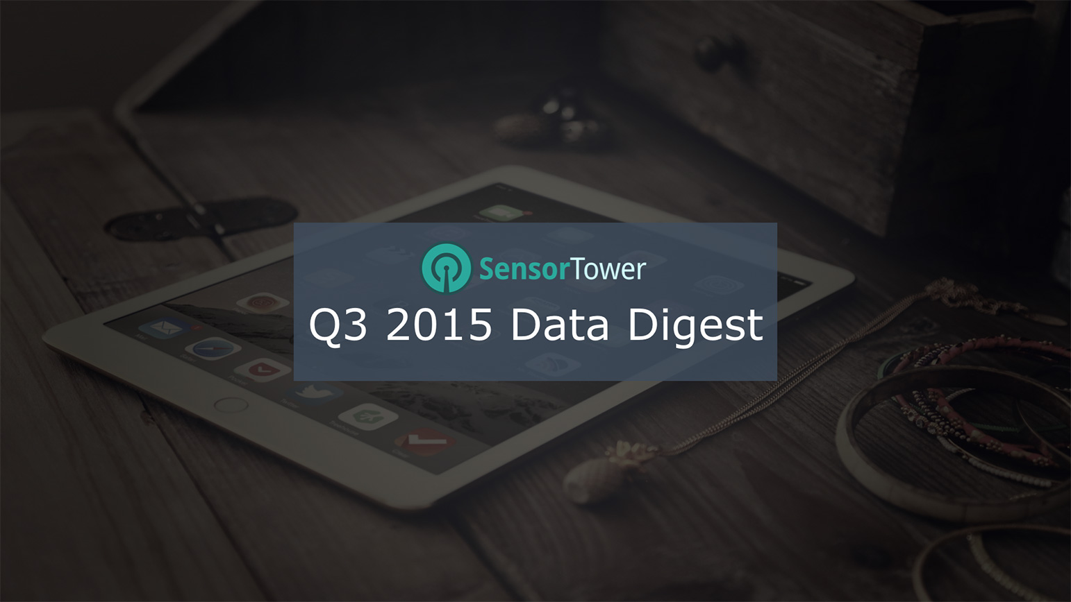 Cover of Sensor Tower's Q3 Data Digest