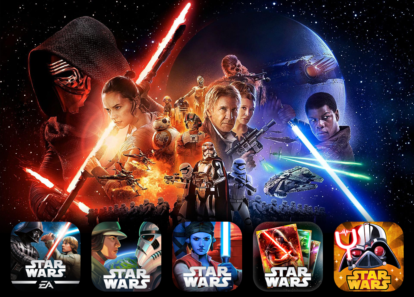 Star Wars Apps Hero Image