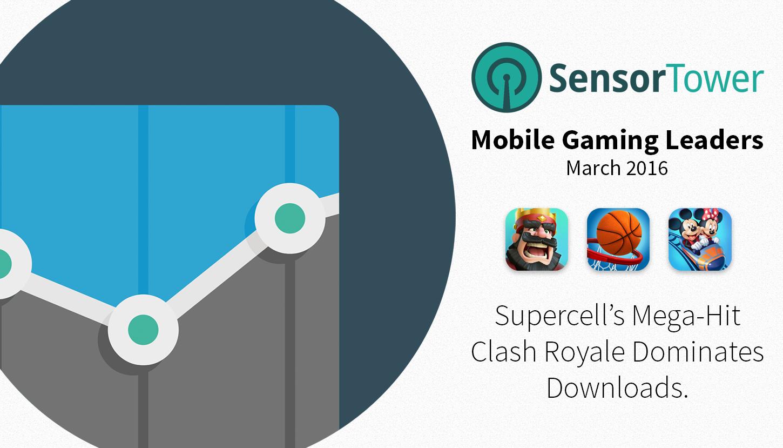 Mobile Gaming Leaders March 2016 Hero Image