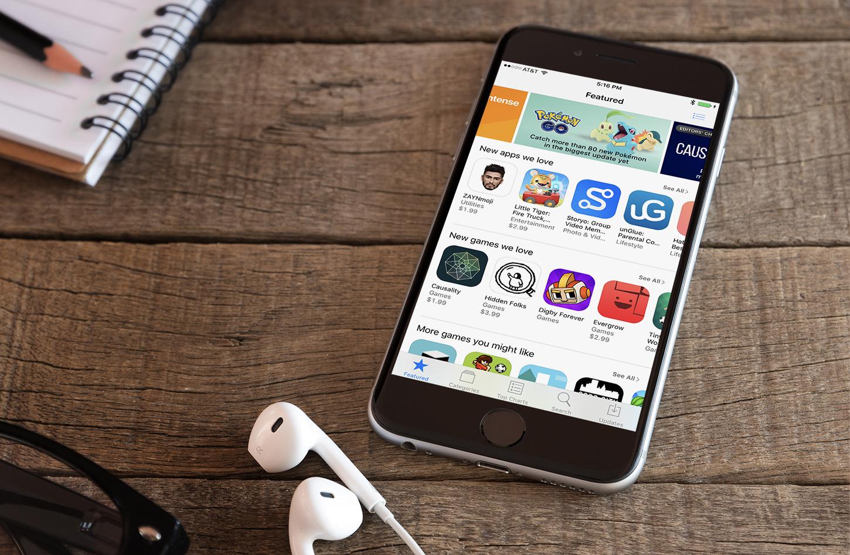 iPhone Average Revenue and Downloads 2016 Hero Image