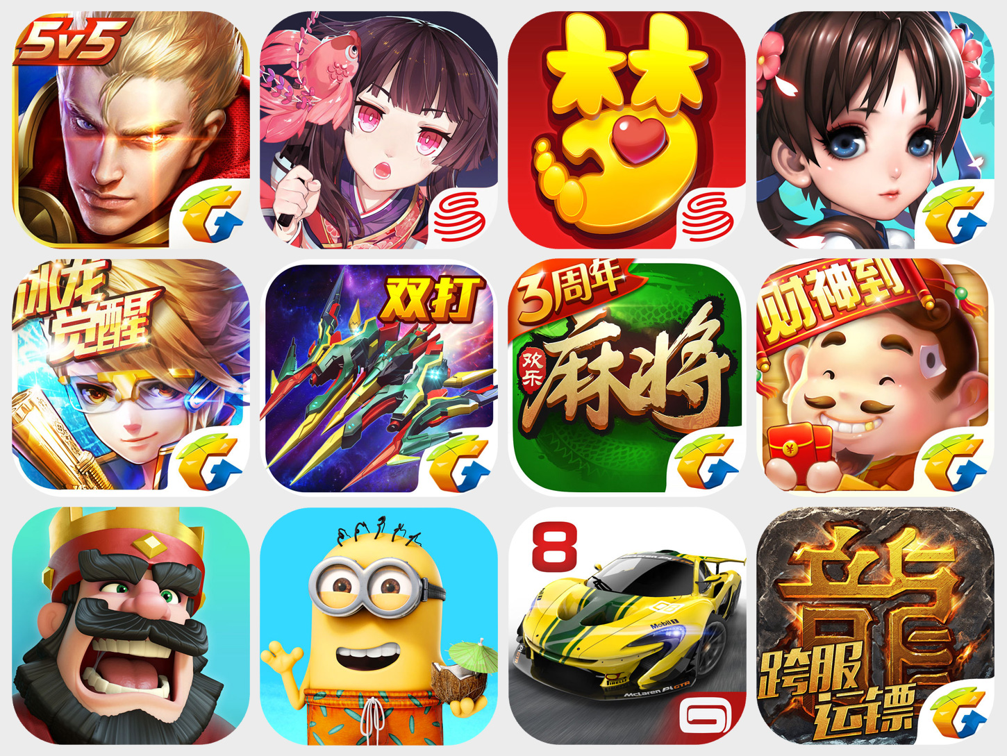 Best mobile games of