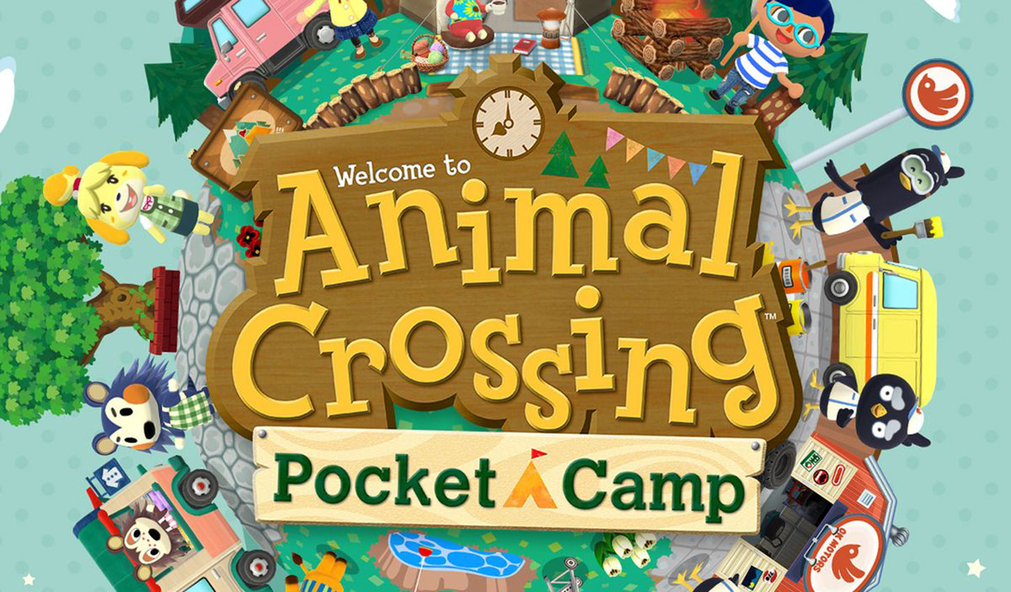 Animal Crossing Pocket Camp Title