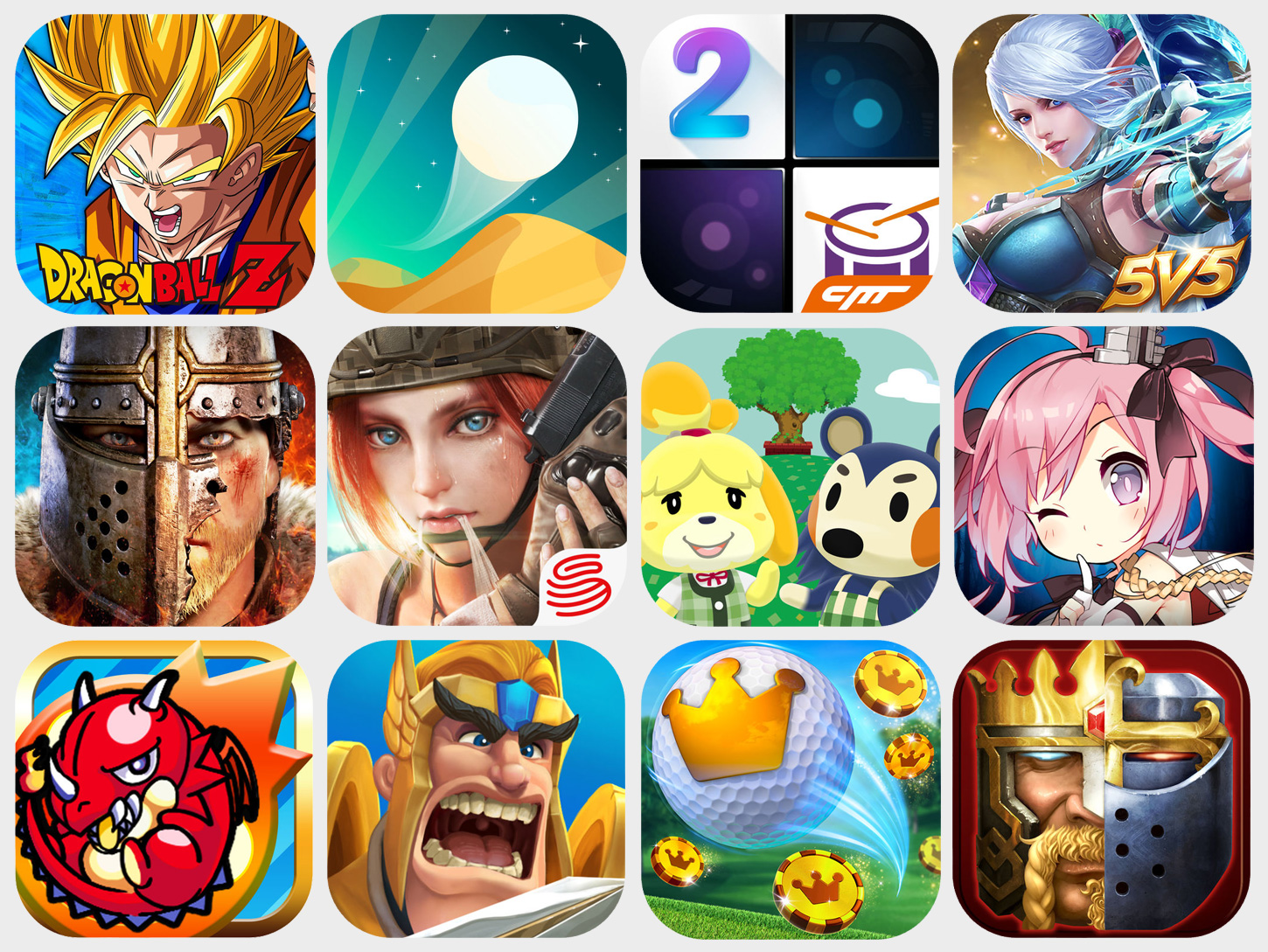 Nov 2017 Top Mobile Games Outside CN Hero Image