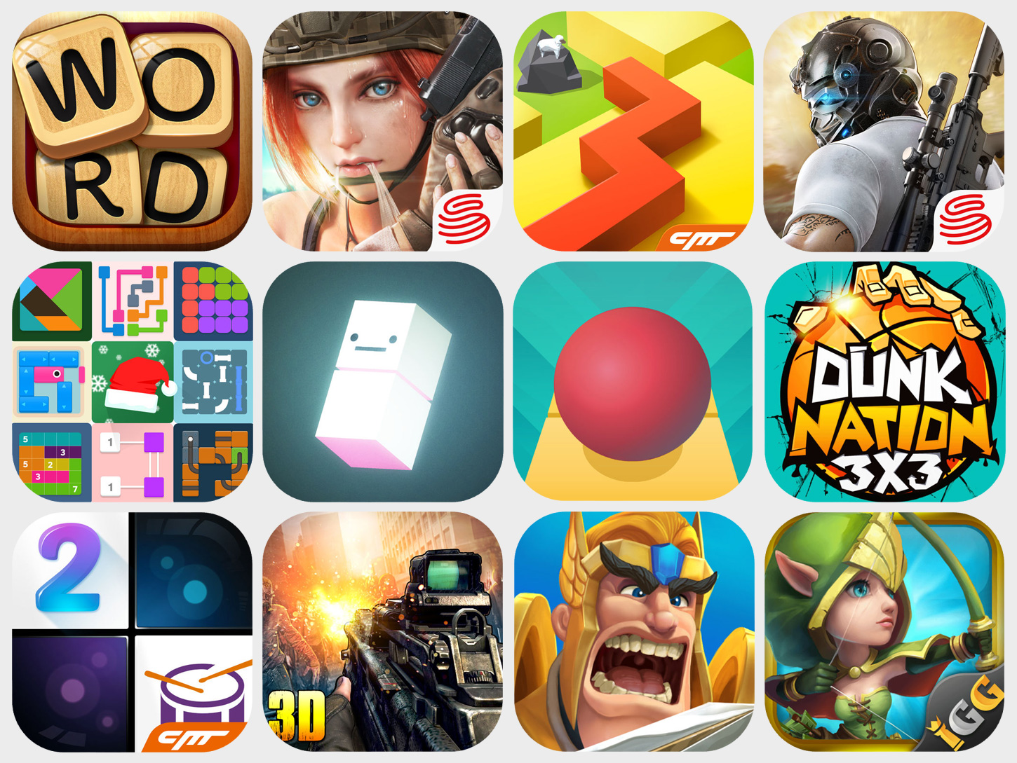 2017 CN-Made iPhone Games that Made it to the U.S. App Store Top 5 Free