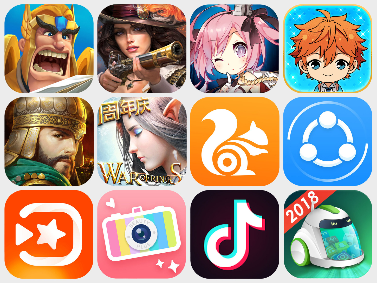 Jan 2018 Top Chinese-Made Mobile Games and Non-Game Apps Outside CN Hero Image