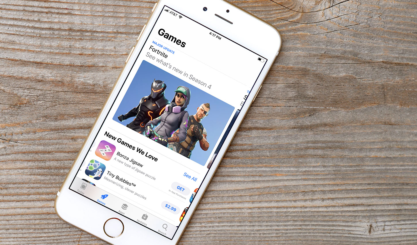 More Than 25% of iOS Game Downloads Now Come from Browsing