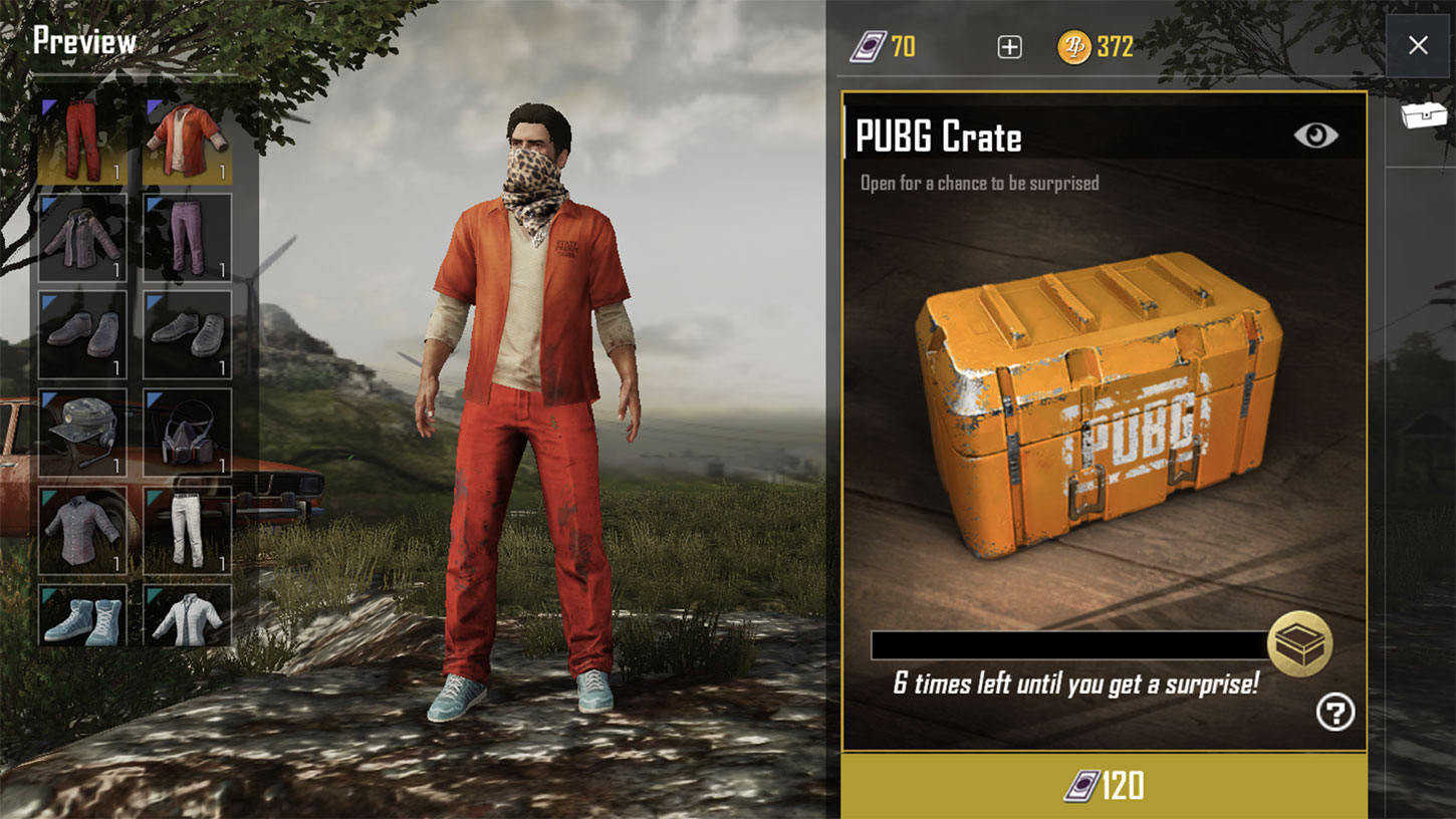 PUBG Mobile shop screenshot  - pubg mobile shop - Fortnite Made Five Times PUBG Mobile's First Week Revenue on iOS