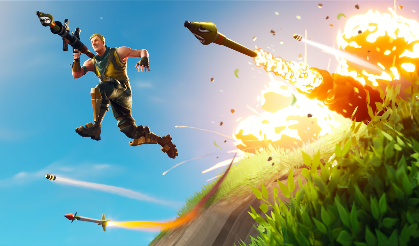 Fortnite Mobile $100 Million Hero Image