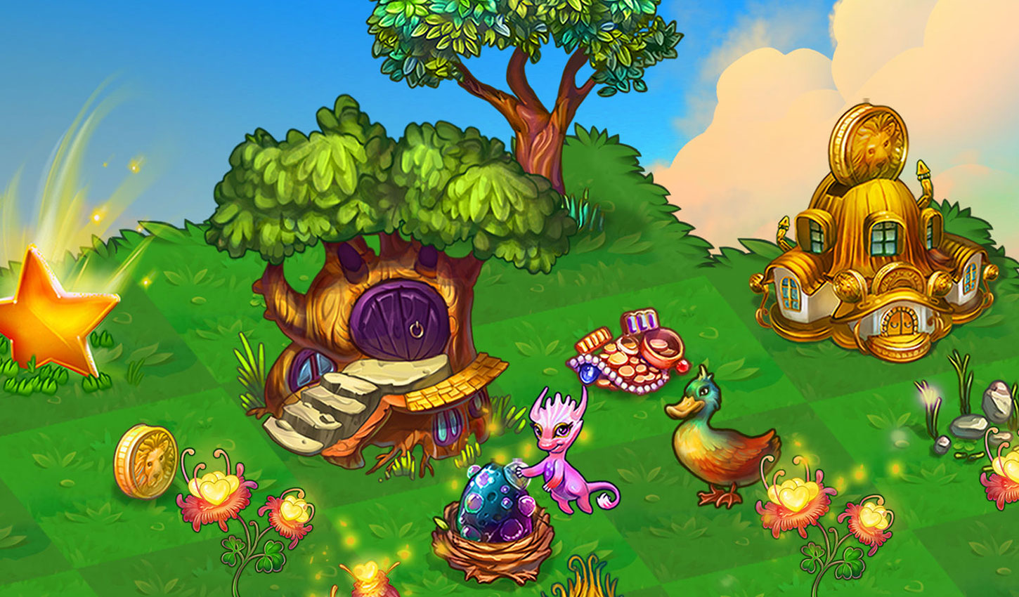 Merge Dragons Artwork  - merge dragons - Zynga's Acquisition Strategy Is Reshaping Its Portfolio for Future Growth