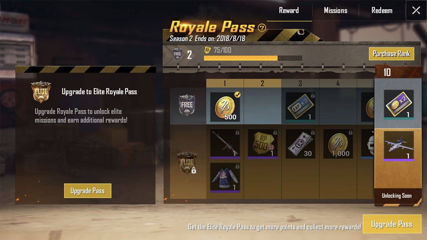 PUBG Mobile's Royale Pass Has Increased the Game's Revenue Nearly 5x