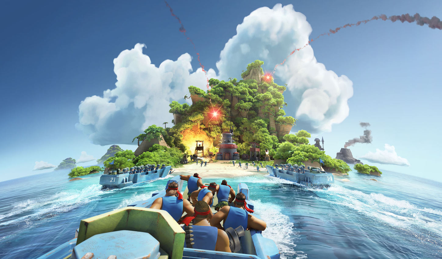 Boom Beach Revenue