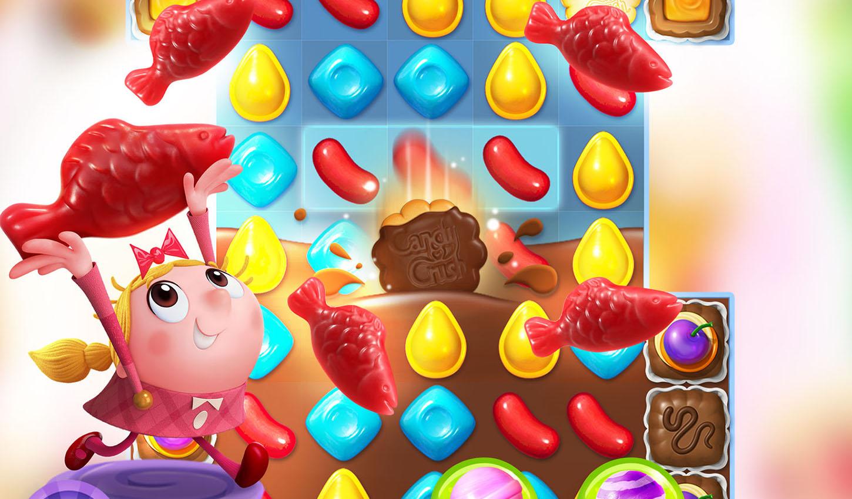 Candy Crush Friends Saga First Week Downloads