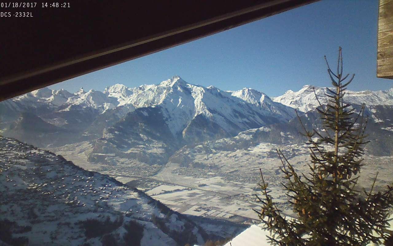 La Tchoueille Nendaz view