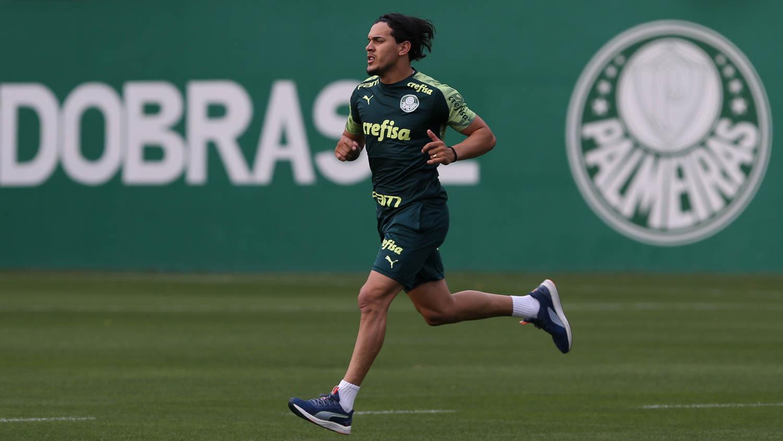 Palmeiras: Gómez se junta ao elenco em mais um dia de avaliações físicas na Academia de Futebol