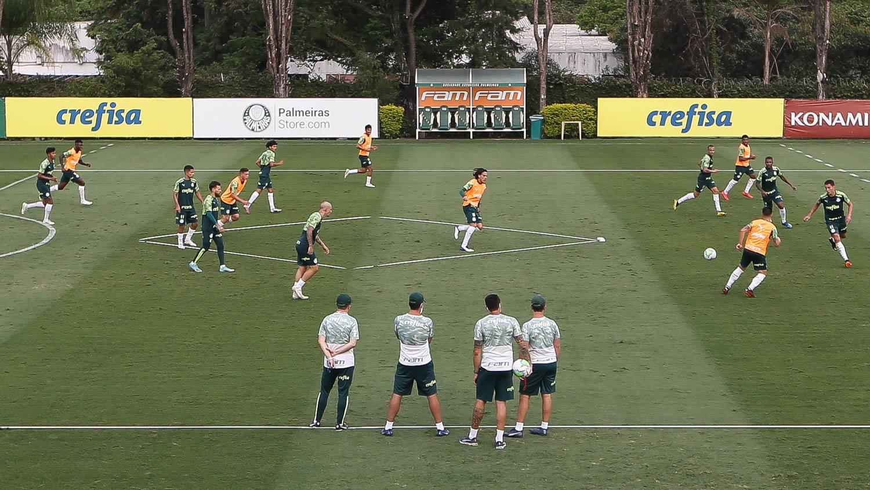 Palmeiras se reapresenta após vitória e volta foco para a Copa do Brasil; veja provável escalação